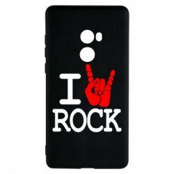 Чехол для Xiaomi Mi Mix 2 I love rock - FatLine