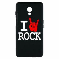 Чехол для Meizu M6s I love rock - FatLine