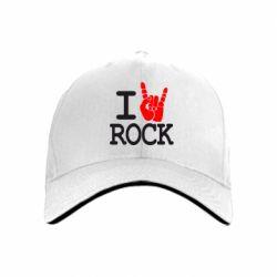 кепка I love rock - FatLine