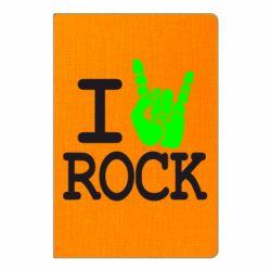 Блокнот А5 I love rock - FatLine
