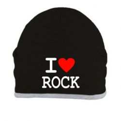 Шапка I love rock - FatLine