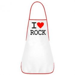 Фартук I love rock - FatLine