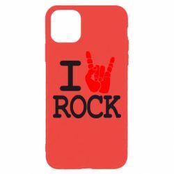 Чехол для iPhone 11 Pro Max I love rock
