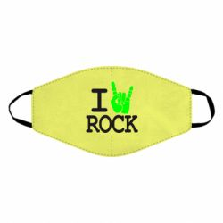 Маска для лица I love rock