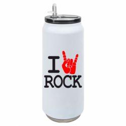 Термобанка 500ml I love rock