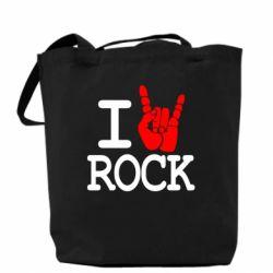 Сумка I love rock - FatLine