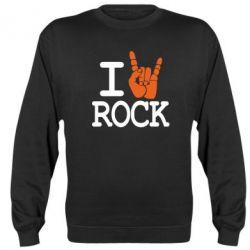 Реглан I love rock - FatLine