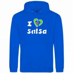 Толстовка I love Salsa - FatLine