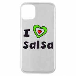 Чохол для iPhone 11 Pro I love Salsa
