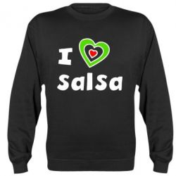 Реглан (свитшот) I love Salsa - FatLine