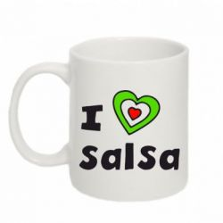Кружка 320ml I love Salsa - FatLine