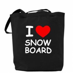 Сумка I love Snow Board