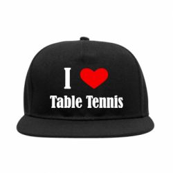Снепбек I love table tennis