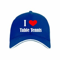 кепка I love table tennis