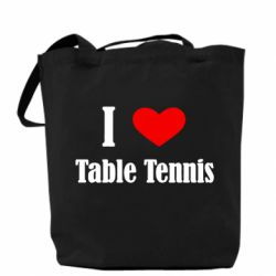 Сумка I love table tennis