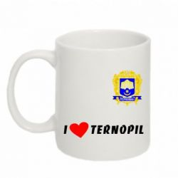 Кружка 320ml I love Ternopil