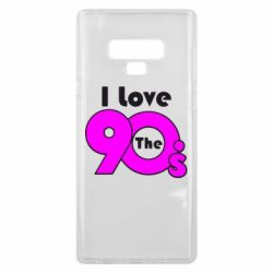 Чохол для Samsung Note 9 I love the 90