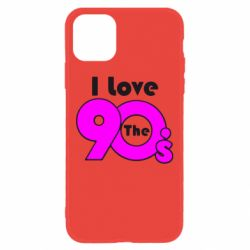 Чохол для iPhone 11 I love the 90