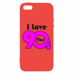 Чохол для iphone 5/5S/SE I love the 90