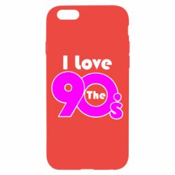Чохол для iPhone 6/6S I love the 90