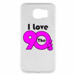 Чохол для Samsung S6 I love the 90