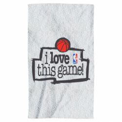 Полотенце I love this Game - FatLine