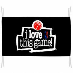 Флаг I love this Game