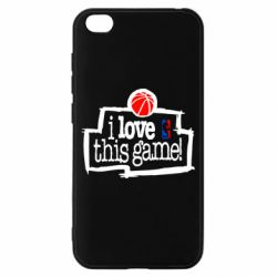 Чехол для Xiaomi Redmi Go I love this Game