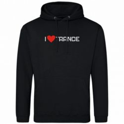 Толстовка i love trance - FatLine