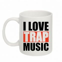 Кружка 320ml I love TRAP Music - FatLine