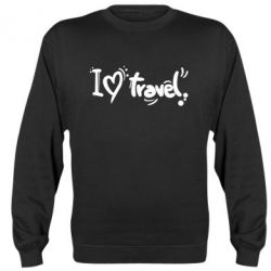 Реглан I love travel - FatLine