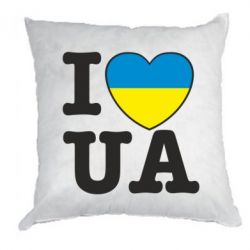 Подушка I love UA - FatLine