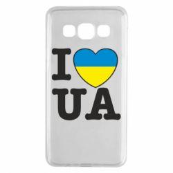 Чехол для Samsung A3 2015 I love UA