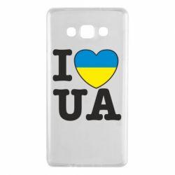 Чехол для Samsung A7 2015 I love UA
