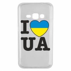 Чехол для Samsung J1 2016 I love UA