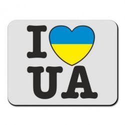 Коврик для мыши I love UA - FatLine