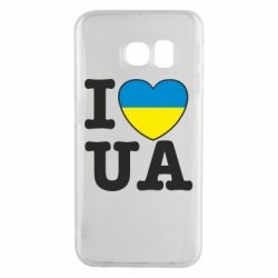 Чехол для Samsung S6 EDGE I love UA