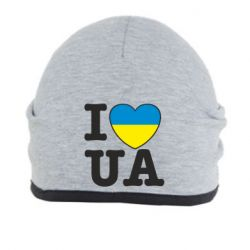 Шапка I love UA - FatLine