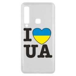 Чехол для Samsung A9 2018 I love UA