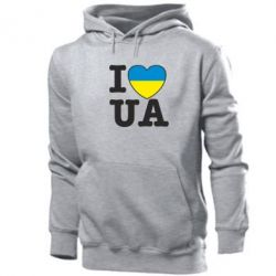 Толстовка I love UA - FatLine