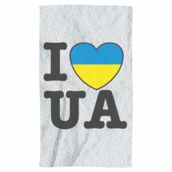 Полотенце I love UA