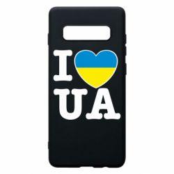 Чехол для Samsung S10+ I love UA