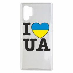 Чехол для Samsung Note 10 Plus I love UA