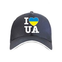 Кепка I love UA - FatLine
