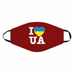 Маска для лица I love UA