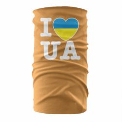 Бандана-труба I love UA