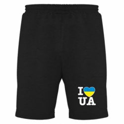 Мужские шорты I love UA - FatLine