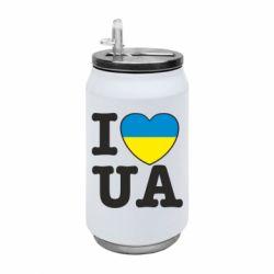 Термобанка 350ml I love UA