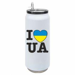 Термобанка 500ml I love UA