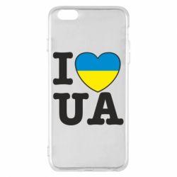 Чехол для iPhone 6 Plus/6S Plus I love UA